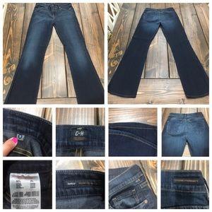COH 28 Jeans Amber Fit Medium Rise Boot Cut